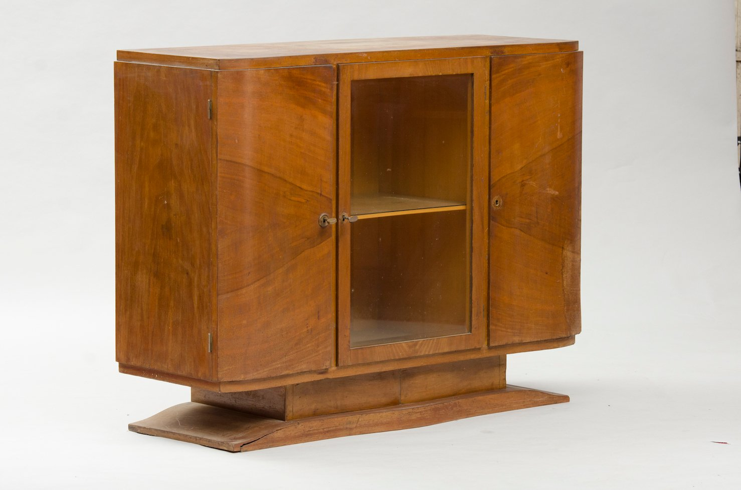 small vintage art deco sideboard for sale at pamono. Black Bedroom Furniture Sets. Home Design Ideas