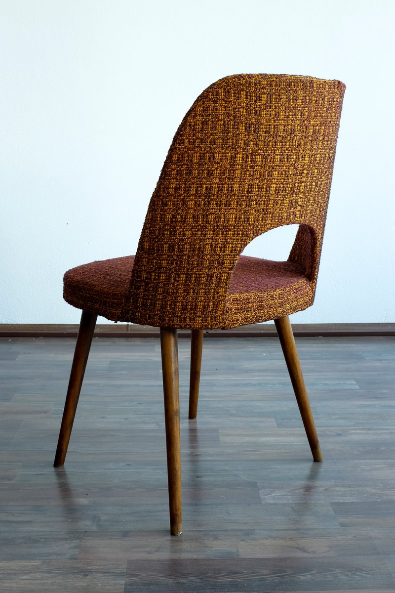 vintage esszimmerst hle von oswald haerdtl f r thonet 4er. Black Bedroom Furniture Sets. Home Design Ideas