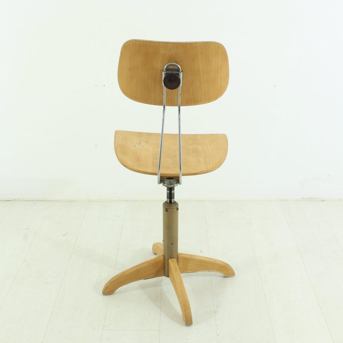 werkst tten stuhl 1950er bei pamono kaufen. Black Bedroom Furniture Sets. Home Design Ideas