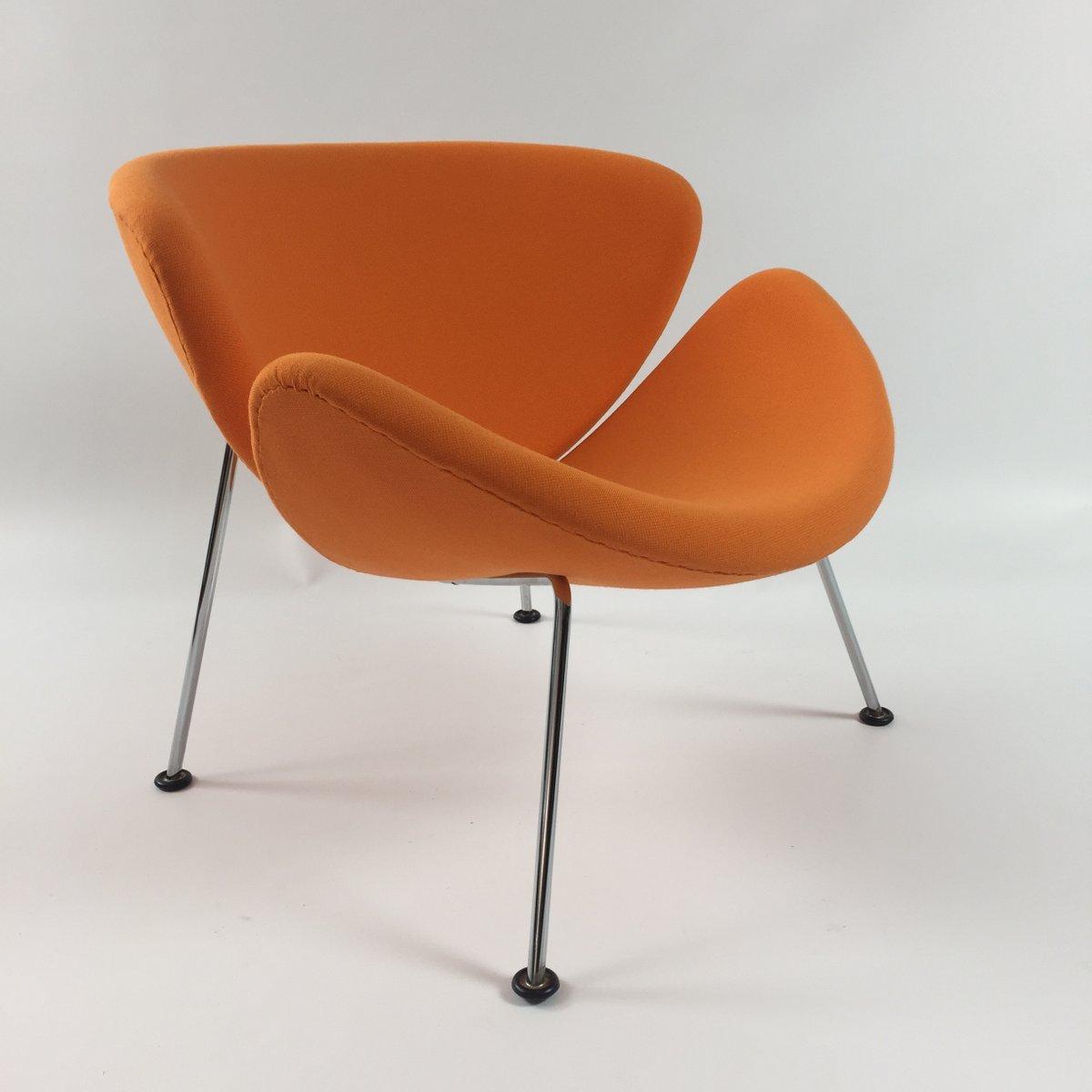 vintage orange slice lounge stuhl von pierre paulin f r artifort bei pamono kaufen. Black Bedroom Furniture Sets. Home Design Ideas
