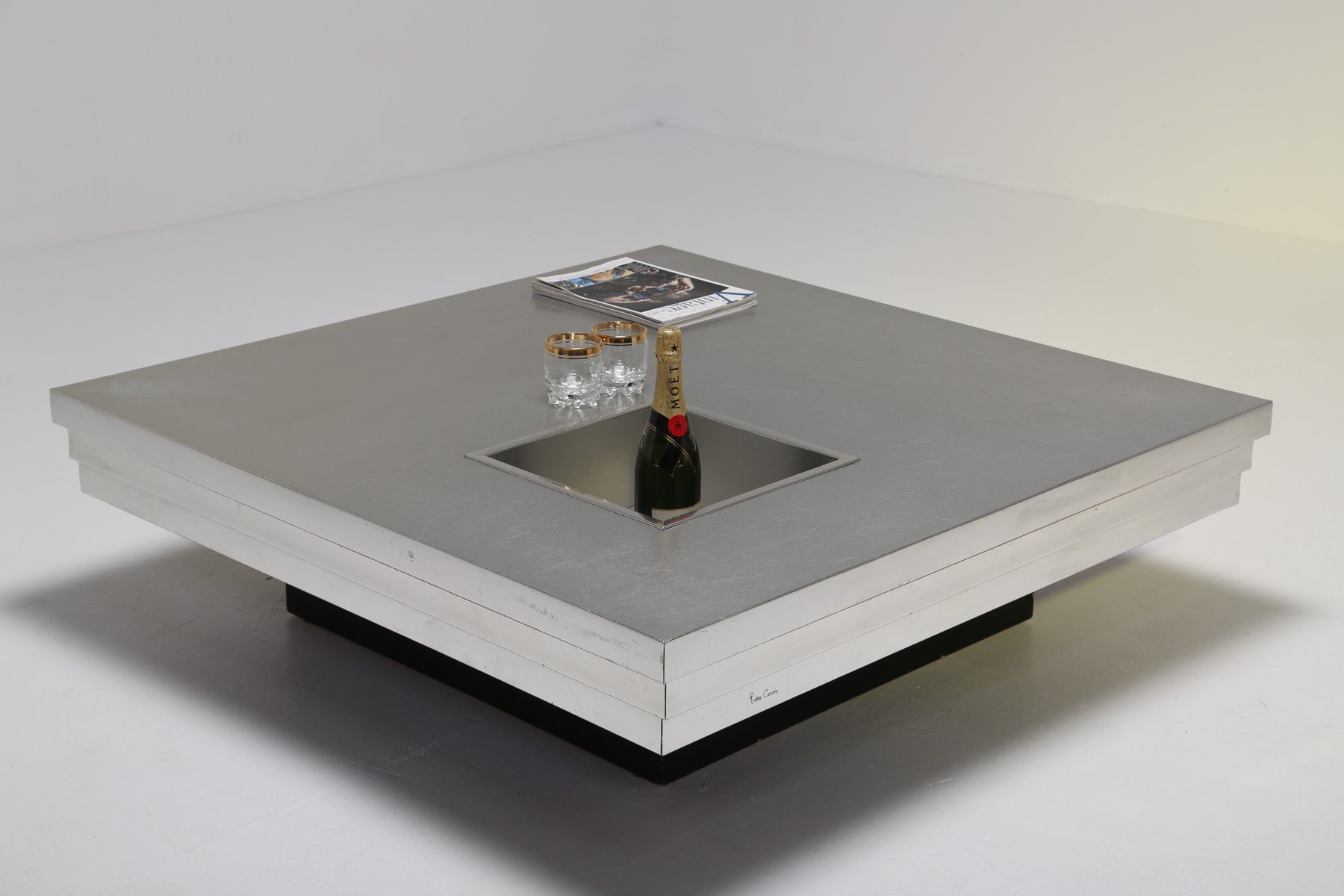 Coffee Table by Pierre Cardin for Dillingham 1970s for sale at Pamono