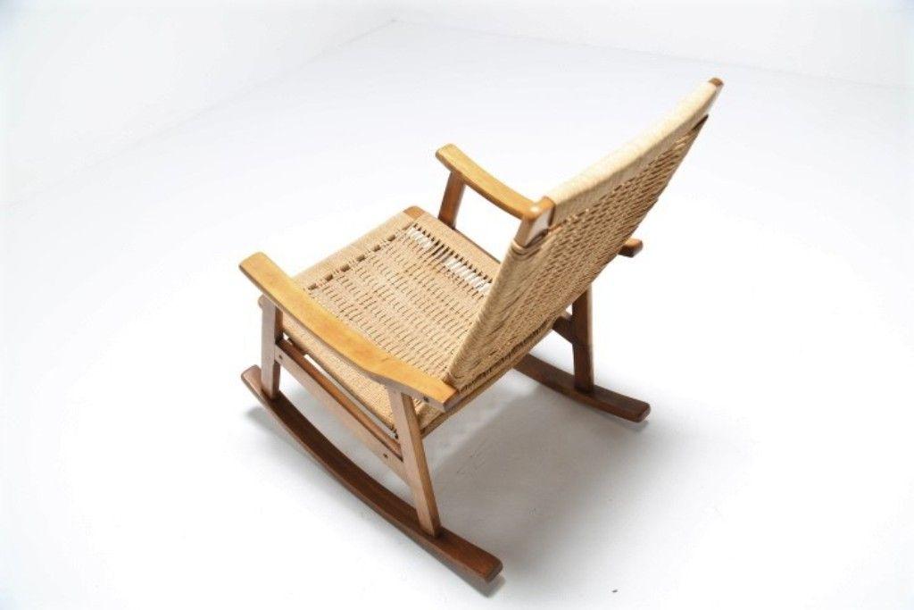 Mid century schaukelstuhl bei pamono kaufen for Schaukelstuhl auf englisch