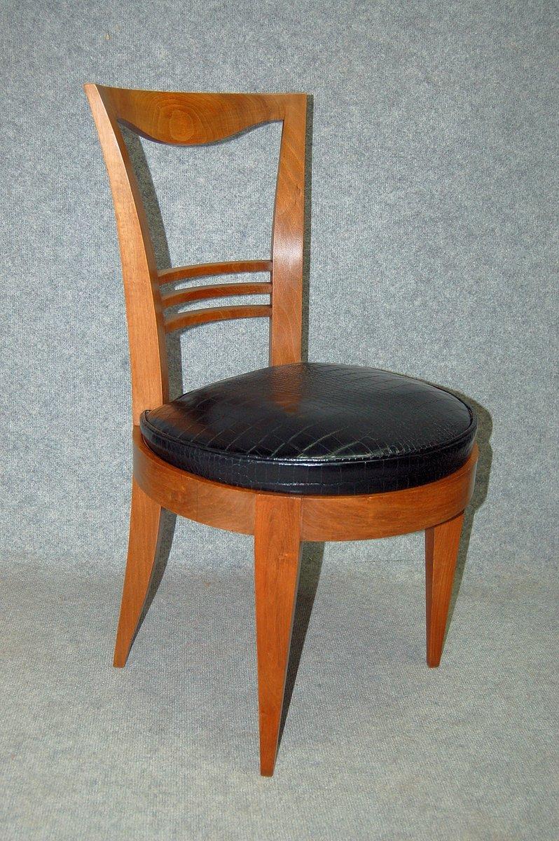 art deco st hle 4er set 1930er bei pamono kaufen. Black Bedroom Furniture Sets. Home Design Ideas