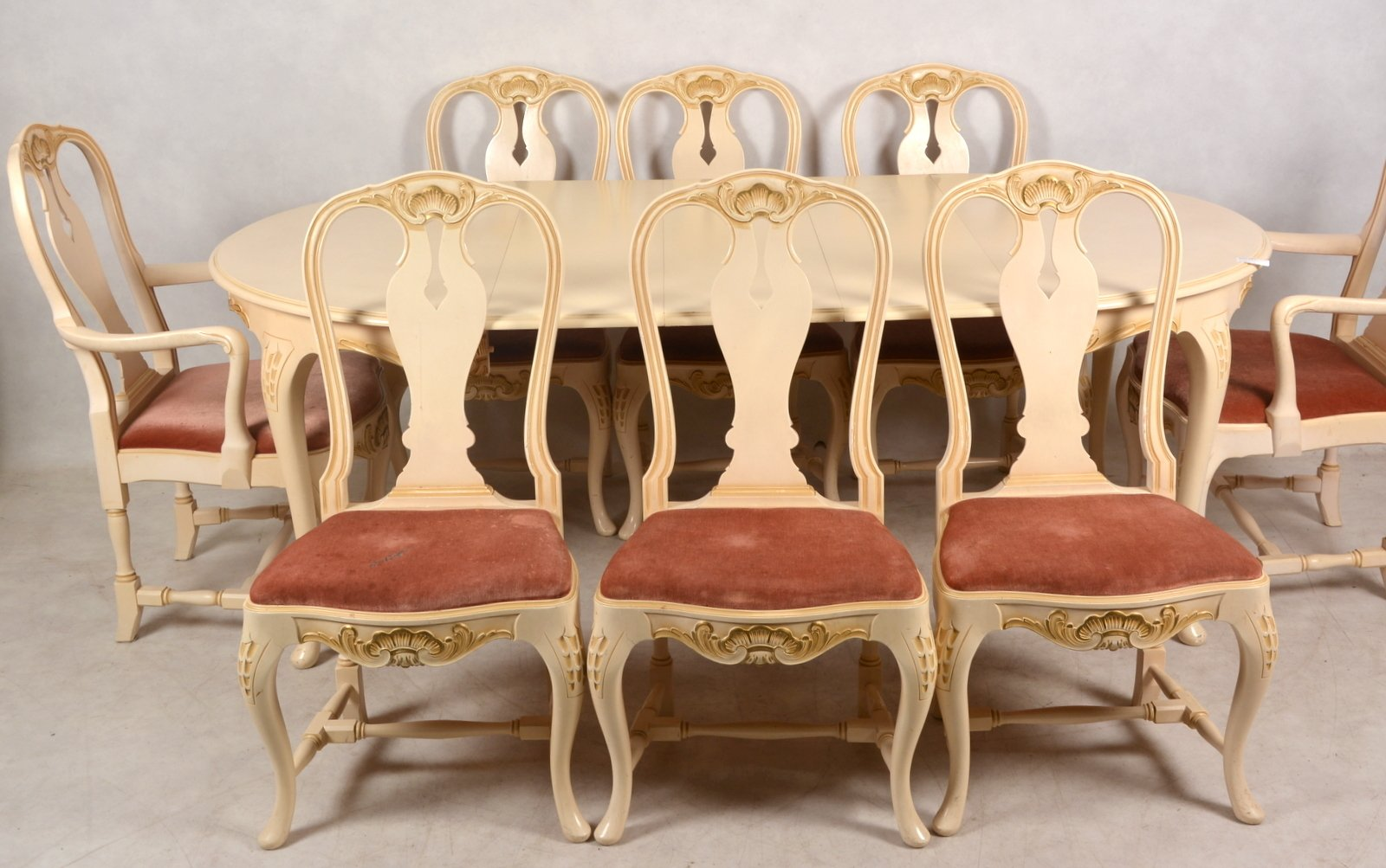 Antique dining room set 1900s for sale at pamono for Antique dining room sets