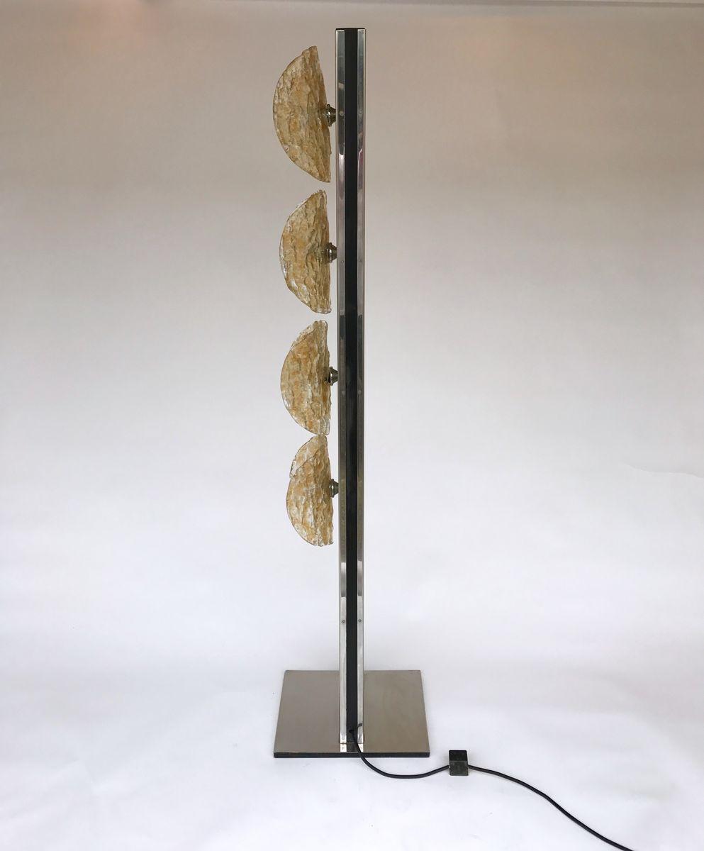 italienische murano glas stehlampe von mazzega 1970er bei. Black Bedroom Furniture Sets. Home Design Ideas