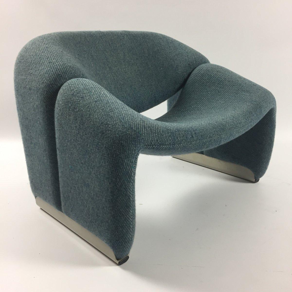 fauteuil groovy f598 m par pierre paulin pour artifort 1980s en vente sur pamono. Black Bedroom Furniture Sets. Home Design Ideas
