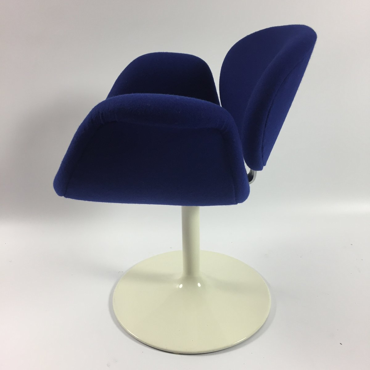 Blue Little Tulip Armchair By Pierre Paulin For Artifort