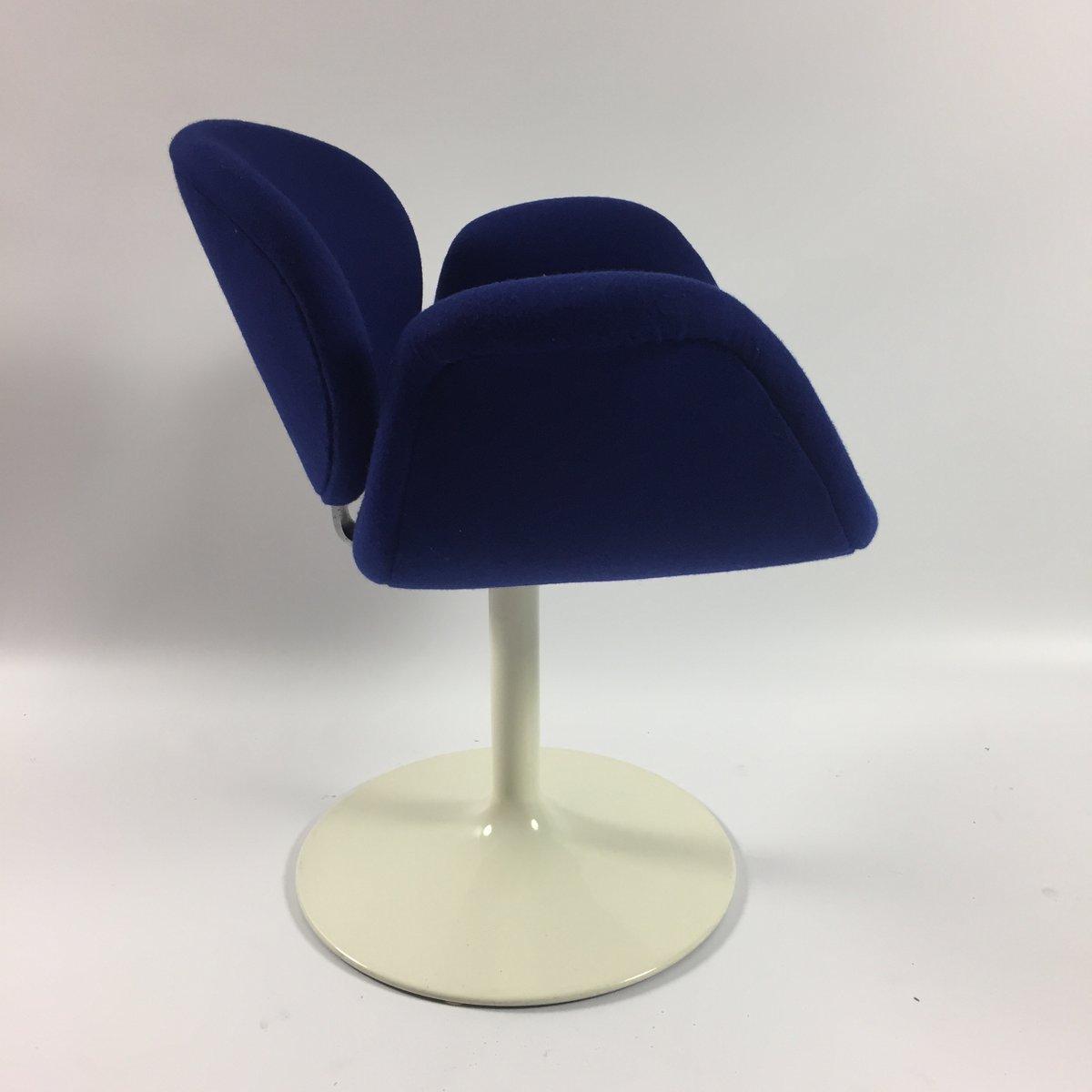 Petit Fauteuil Tulipe Bleu par Pierre Paulin pour Artifort 1960s