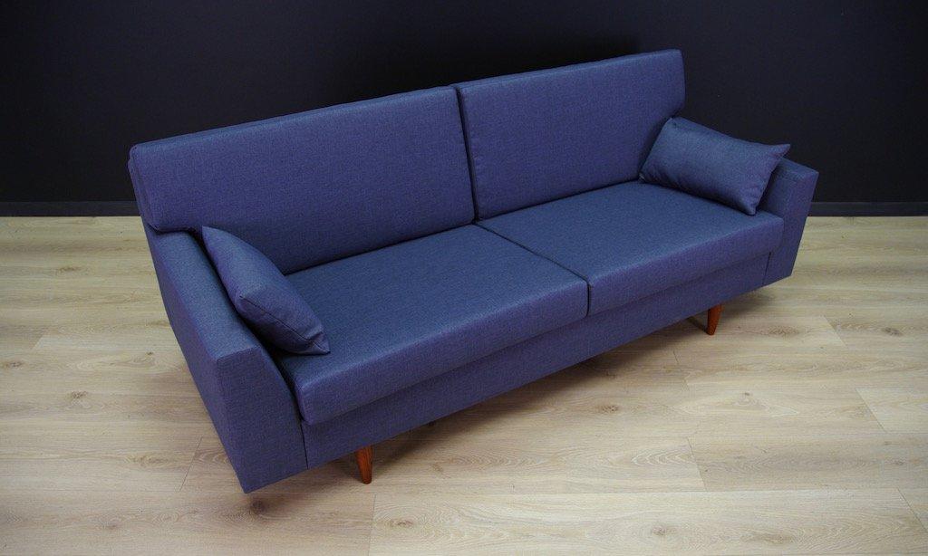 d nisches vintage sofa in blau bei pamono kaufen. Black Bedroom Furniture Sets. Home Design Ideas