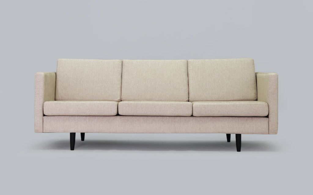 Vintage danish minimalist sofa for sale at pamono for Minimalist sofa