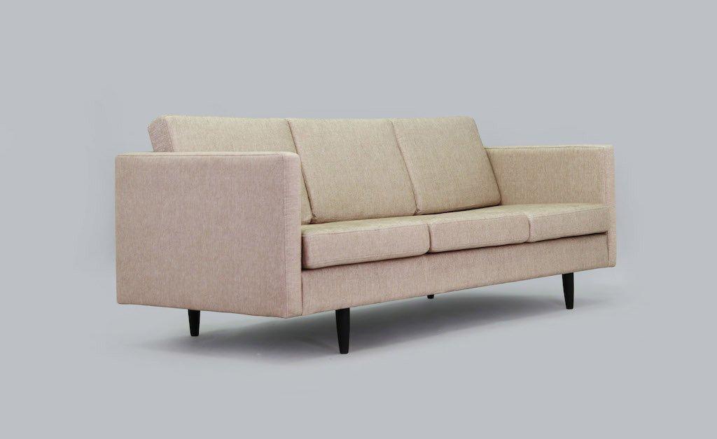 minimalistisches d nisches vintage sofa bei pamono kaufen. Black Bedroom Furniture Sets. Home Design Ideas