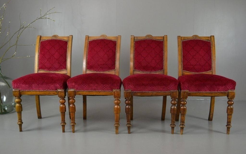 Antique Victorian Dining Chairs Set of 4 for sale at Pamono : antique victorian dining chairs set of 4 1 from www.pamono.com size 1024 x 643 jpeg 65kB