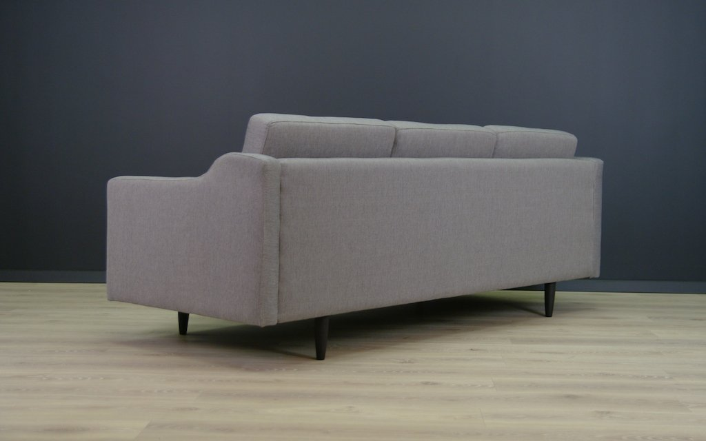 graues d nisches vintage sofa bei pamono kaufen. Black Bedroom Furniture Sets. Home Design Ideas