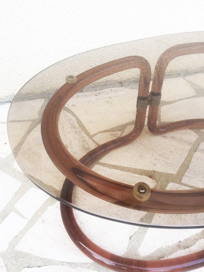 Italienischer couchtisch aus plexiglas glas 1970er bei for Couchtisch plexiglas
