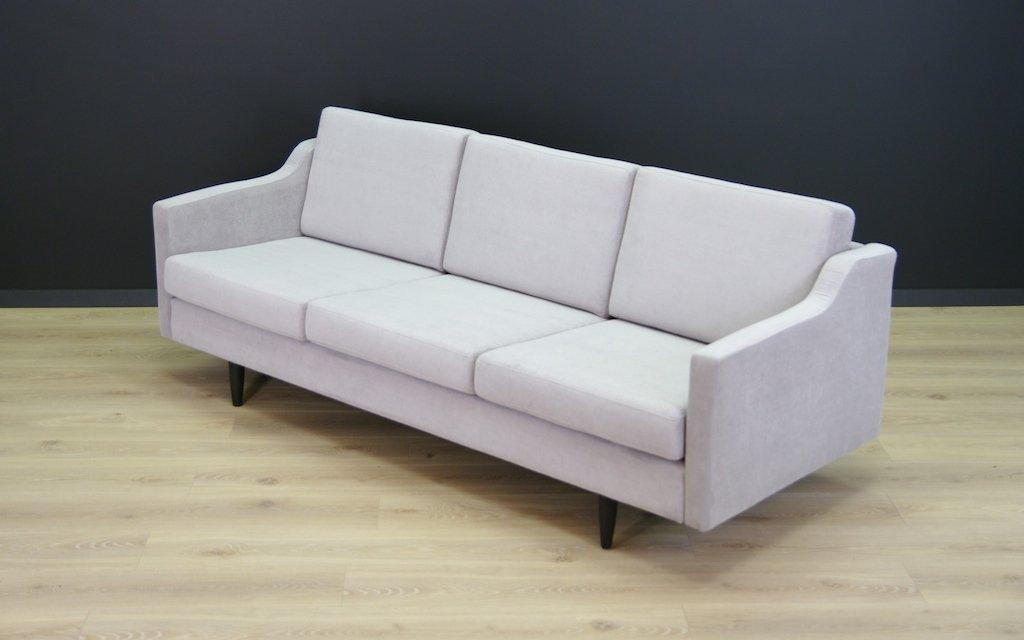 vintage sofa in hellgrau bei pamono kaufen. Black Bedroom Furniture Sets. Home Design Ideas