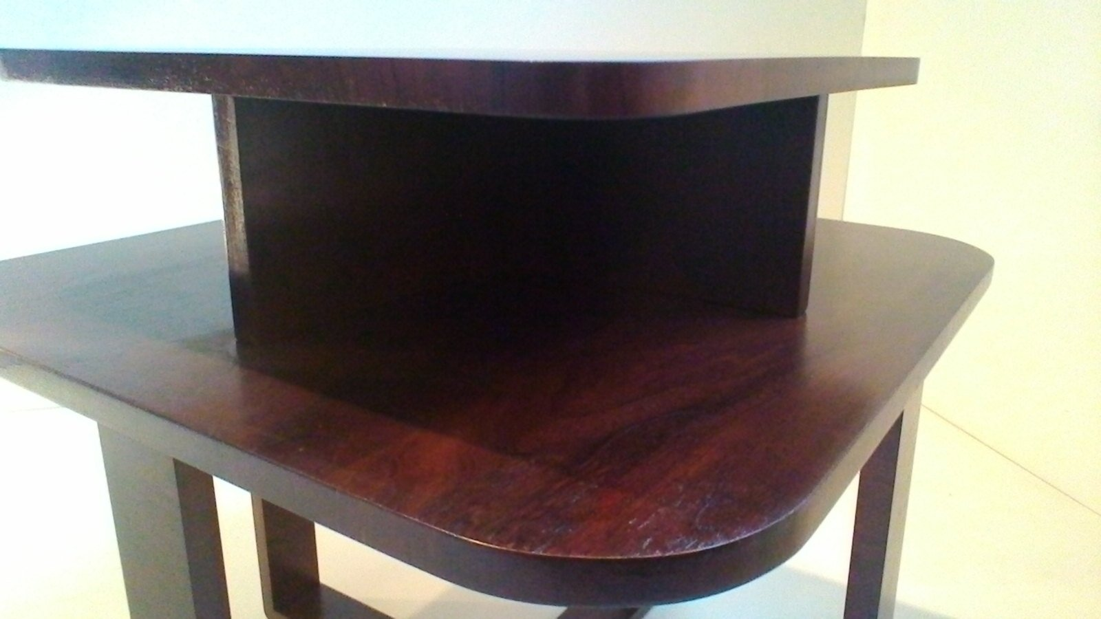 Art Deco Rectangular Bentwood Coffee Table For Sale At Pamono