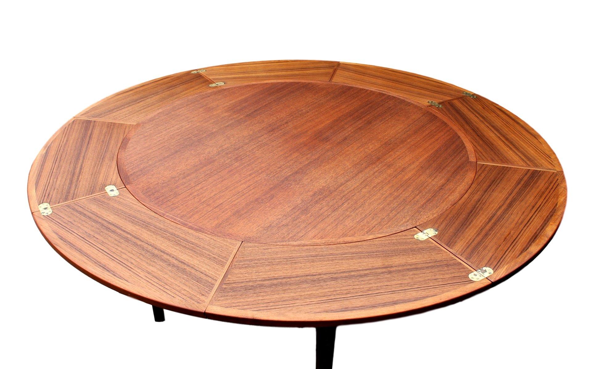Vintage Flip Flap Lotus Teak Dining Table from Dyrlund for  : vintage flip flap lotus teak dining table from dyrlund 3 from www.pamono.com size 1920 x 1198 jpeg 212kB