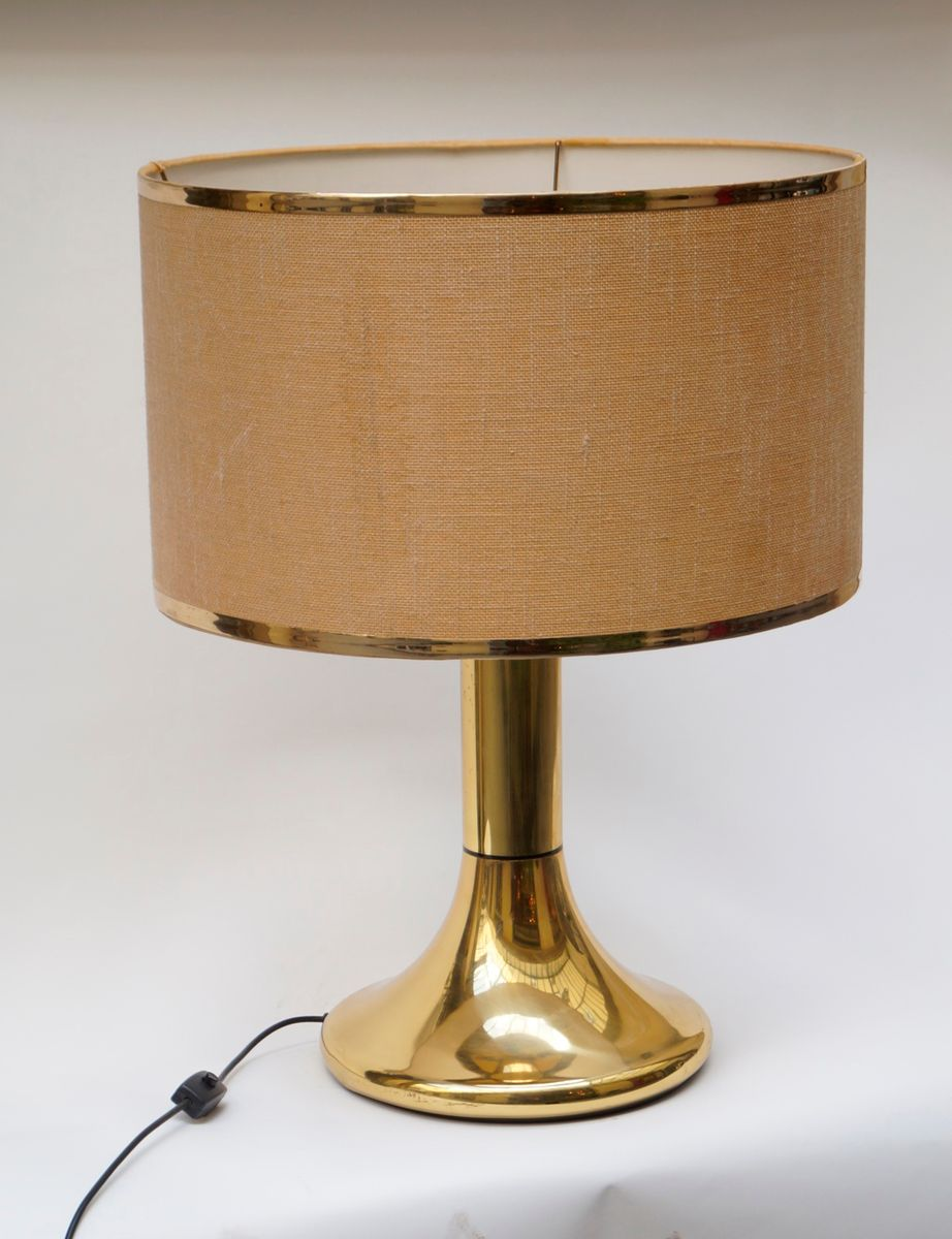 Vintage four light table lamp 1970s for sale at pamono for Gazzetta 5 light table lamp