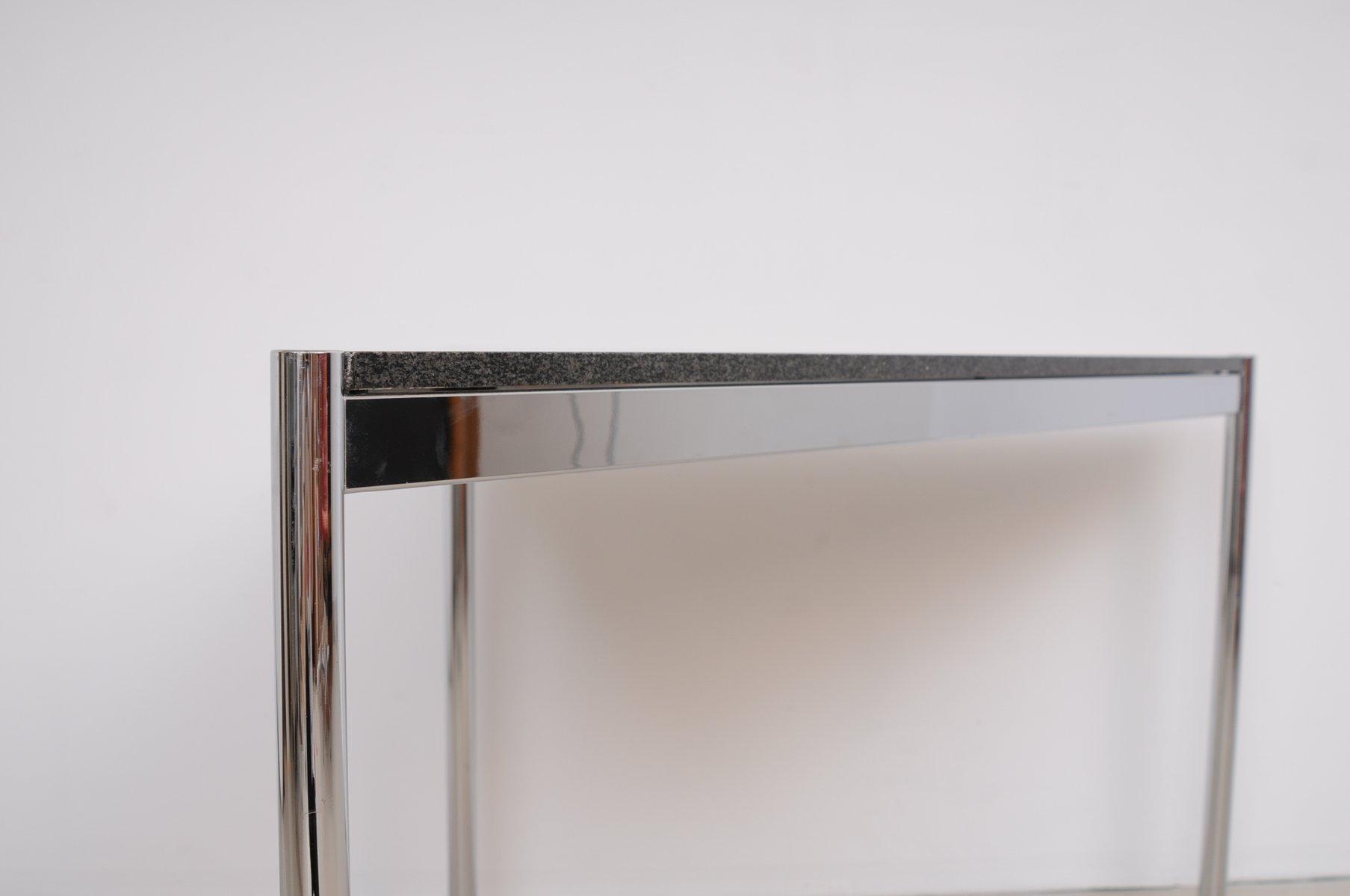 mid century triangular desk with granite top from usm haller for sale at pamono. Black Bedroom Furniture Sets. Home Design Ideas