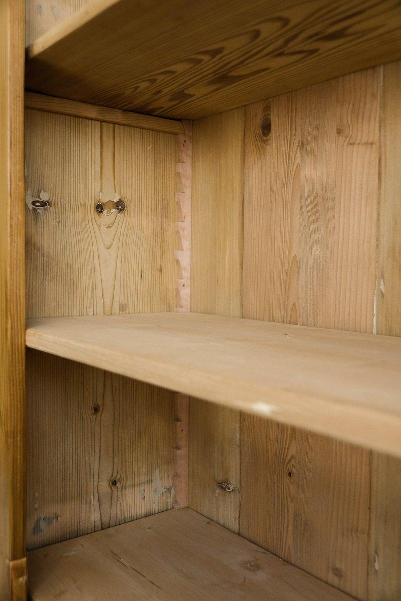 Meuble de rangement de cuisine antique en bois en vente for Meuble de rangement cuisine