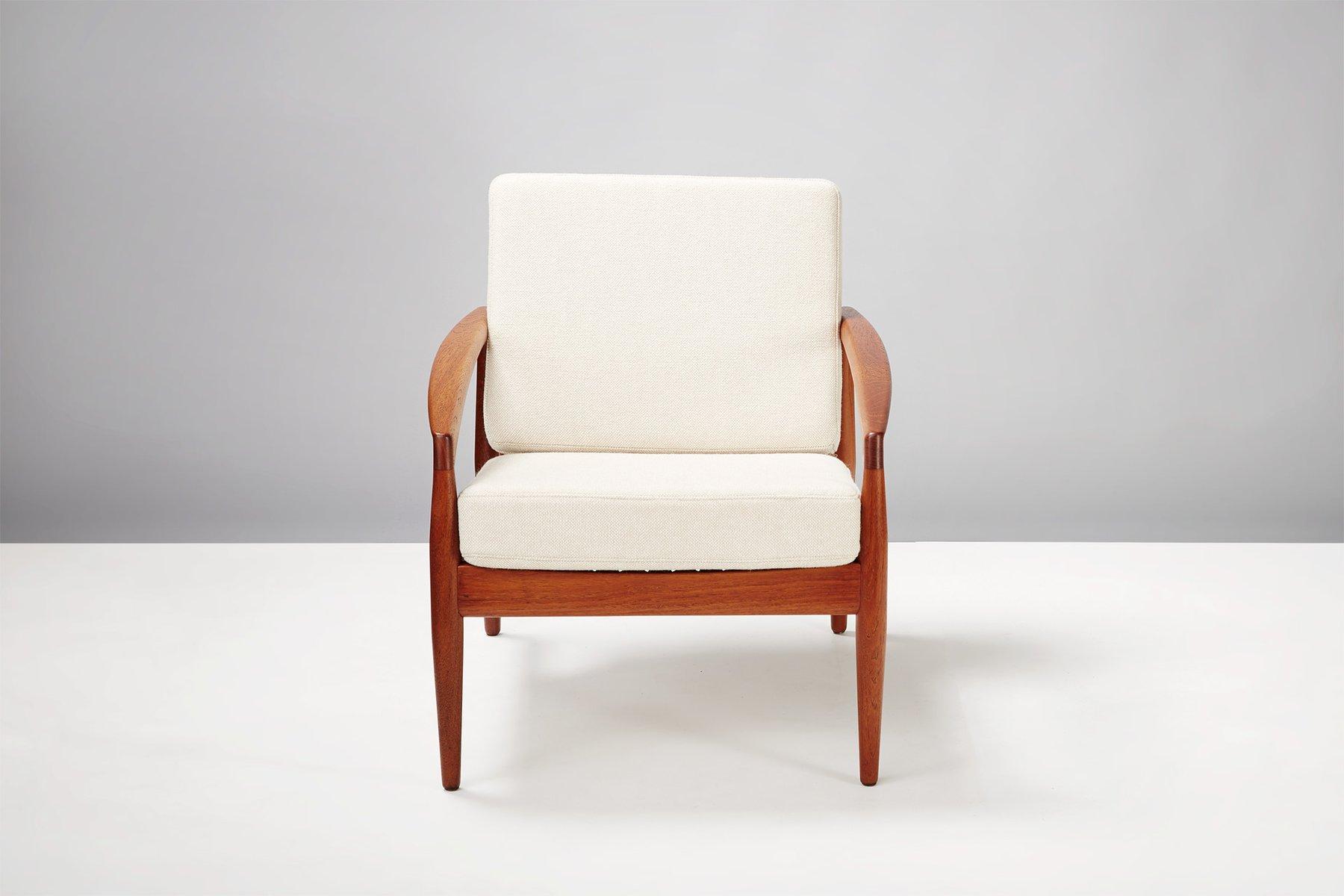 Teak paper knife chair by kai kristiansen for magnus olesen 1955 for sale at pamono - Kai kristiansen chair ...