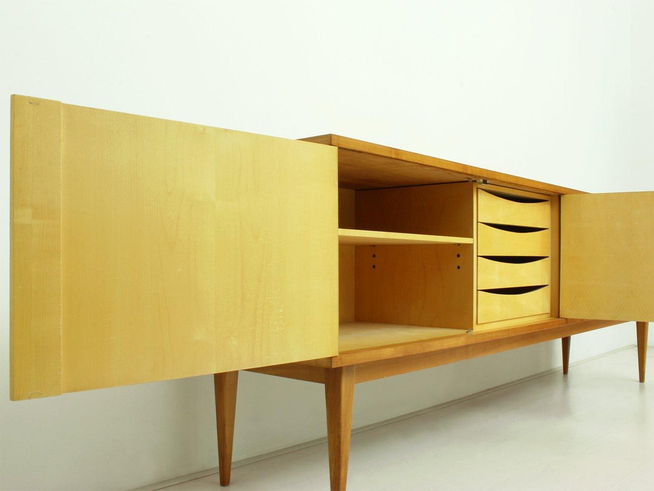 deutsches kirschholz sideboard von wk m bel 1962 bei. Black Bedroom Furniture Sets. Home Design Ideas
