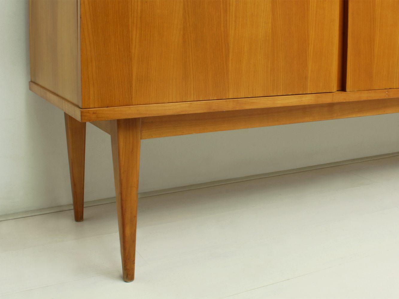 enfilade en merisier par wolfgang weber pour wk m bel. Black Bedroom Furniture Sets. Home Design Ideas