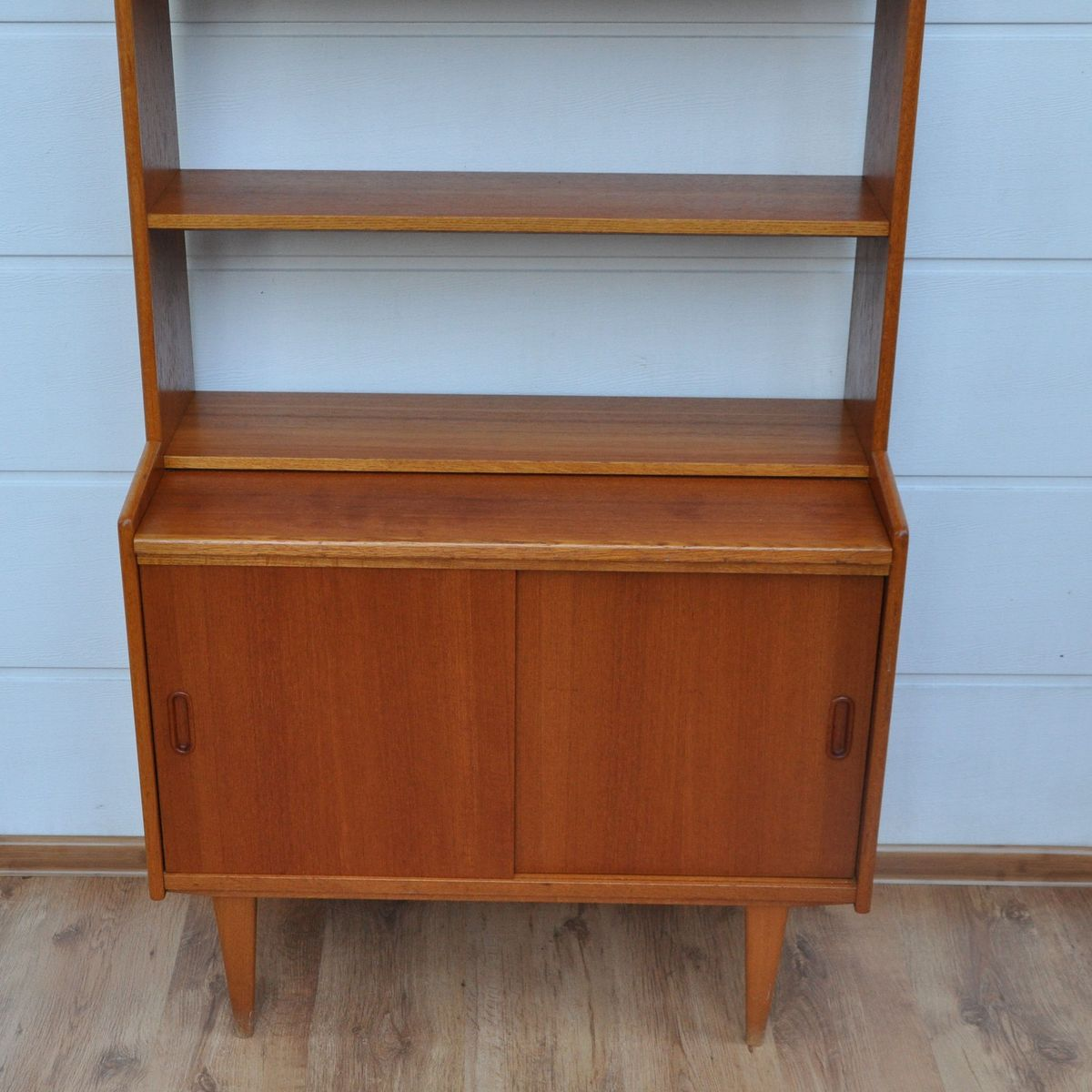 Mid-Century Teak Bookcase From Royal Board For Sale At Pamono