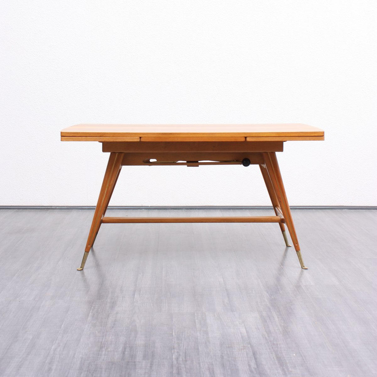 Mid century beech walnut coffee or dining table for sale at pamono Coffee table dining