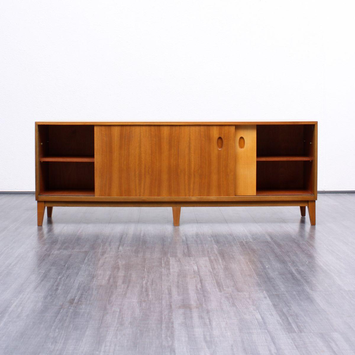 walnut veneer sideboard by georg satink for wk m bel. Black Bedroom Furniture Sets. Home Design Ideas