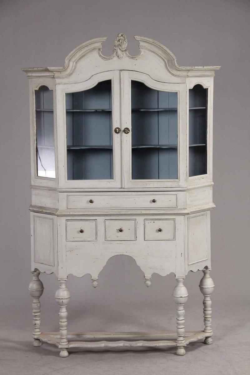 Antique Swedish Display Cabinet - Antique Swedish Display Cabinet For Sale At Pamono