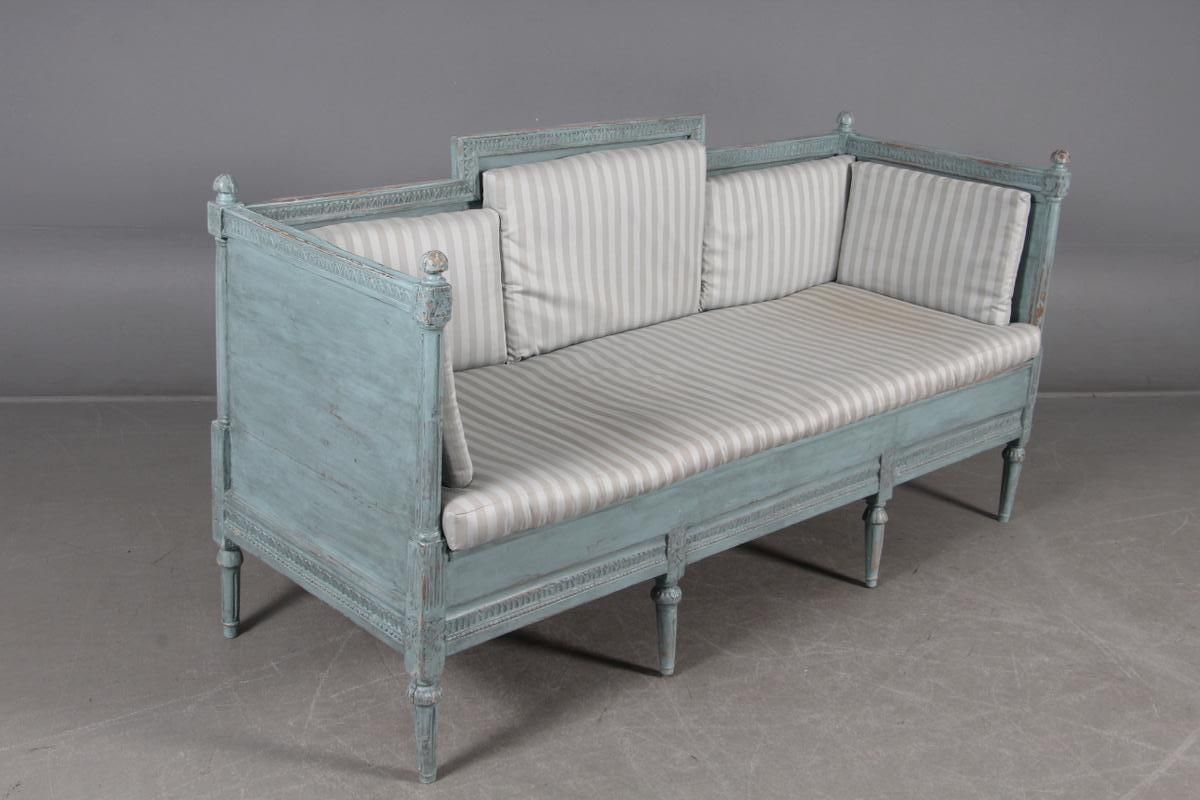 schwedische bank aus 19 jhdt bei pamono kaufen. Black Bedroom Furniture Sets. Home Design Ideas