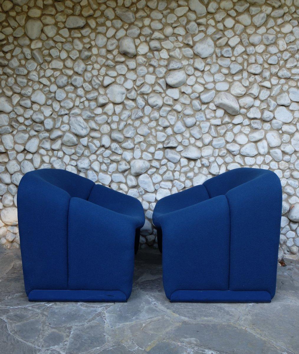 chaise f598 vintage par pierre paulin pour artifort en vente sur pamono. Black Bedroom Furniture Sets. Home Design Ideas