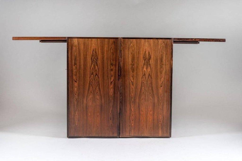 Vintage Danish Bar Cabinet by Reno Wahl Iversen for Dyrlund for ...