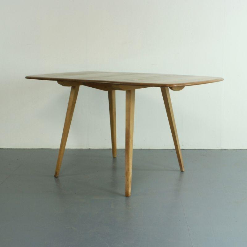 ausziehbarer vintage tisch von ercol bei pamono kaufen. Black Bedroom Furniture Sets. Home Design Ideas