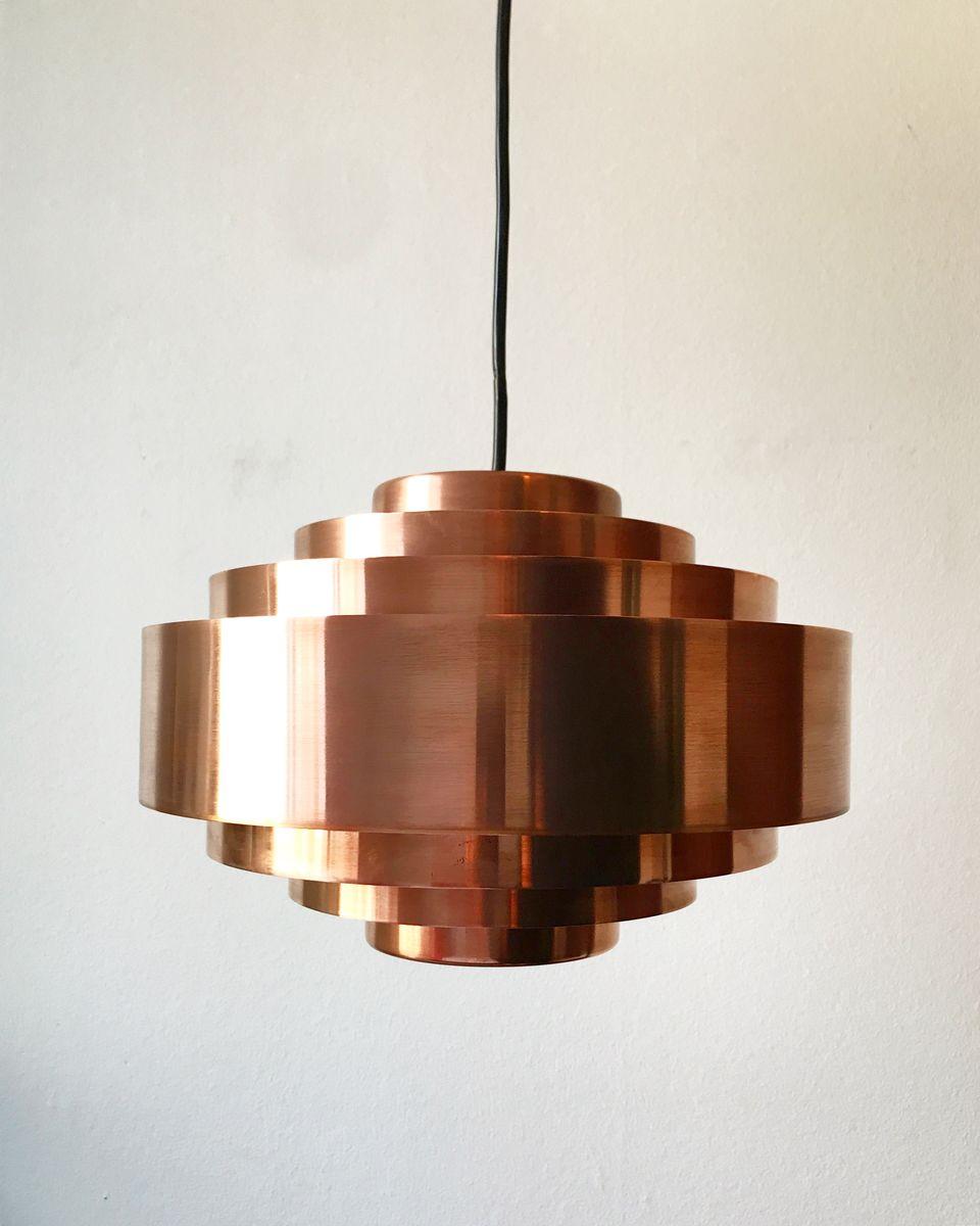 Design Copper Pendant Light copper pendant light lighting 7 best images on danish ultra by jo hammerb for fog 1960s