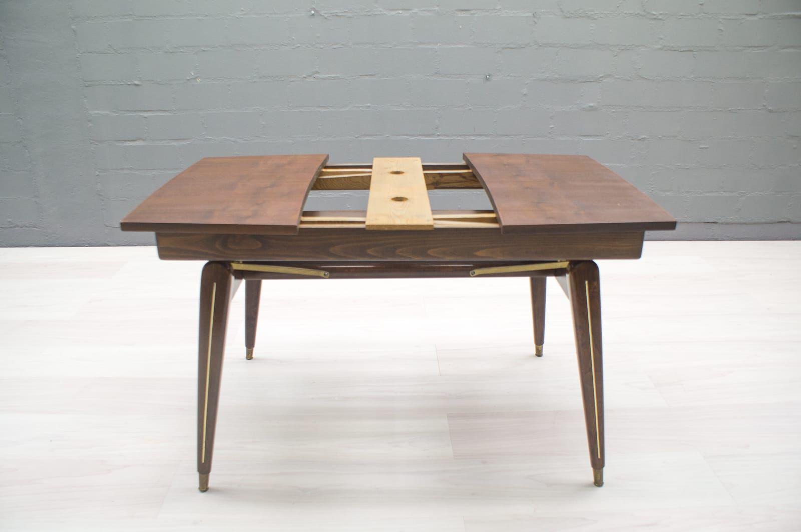 h henverstellbarer couch oder esstisch 1950er bei pamono. Black Bedroom Furniture Sets. Home Design Ideas