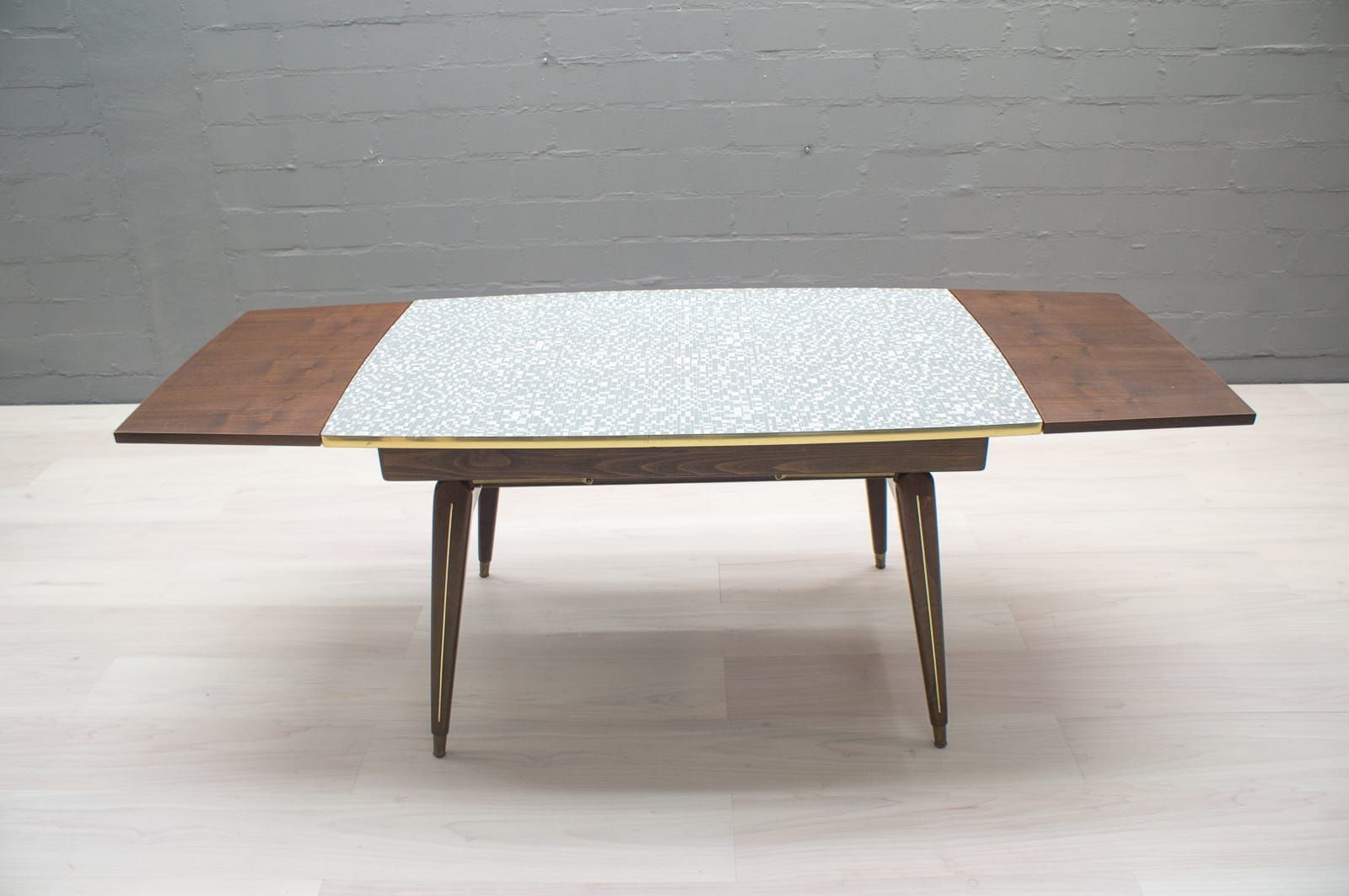 Height adjustable coffee or dining table 1950s for sale at pamono - Telescoping coffee table ...