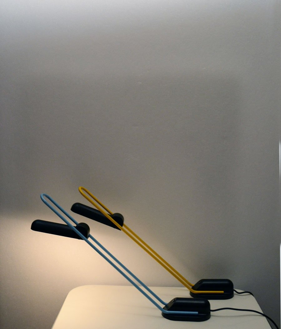 Halogen Table Lamp By Carlo Vietri For Eleusi 1980s For
