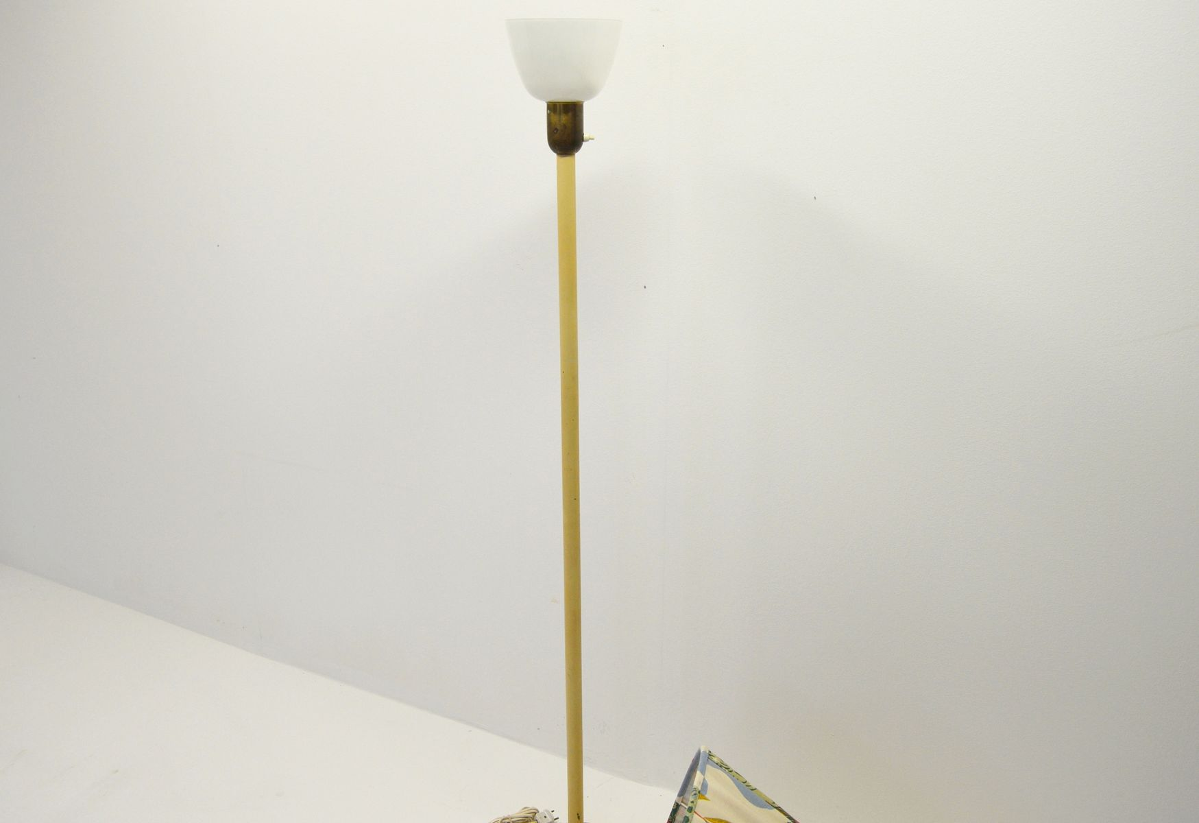 Vintage Swedish Floor Lamp with Uplight for sale at Pamono