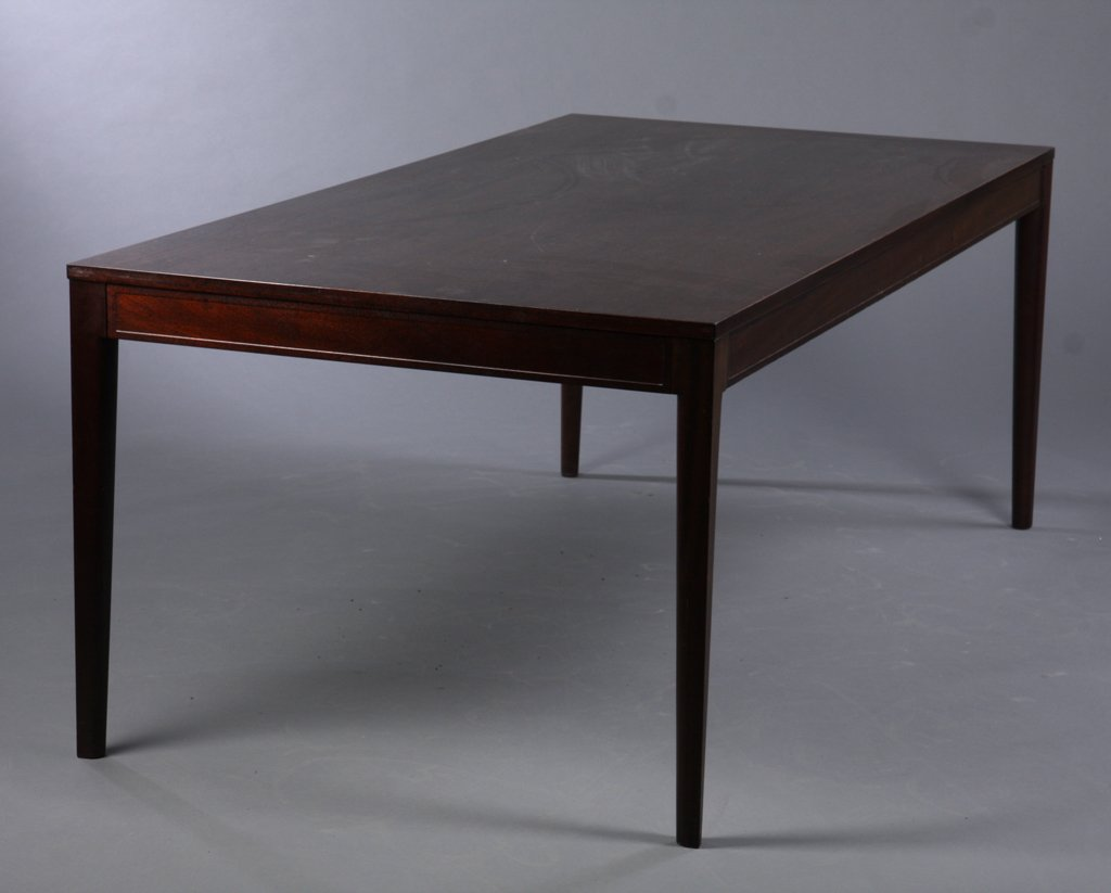 Mahogany Dining Or Conference Table From The Diplomat Series By Finn Juhl  For Cado, 1960s