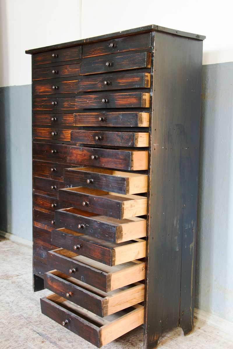 Vintage Apothecary Cabinet With Drawers For Sale At Pamono