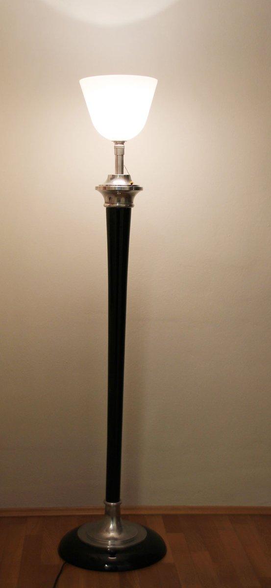 franz sische art deco stehlampe von mazda 1920er bei pamono kaufen. Black Bedroom Furniture Sets. Home Design Ideas
