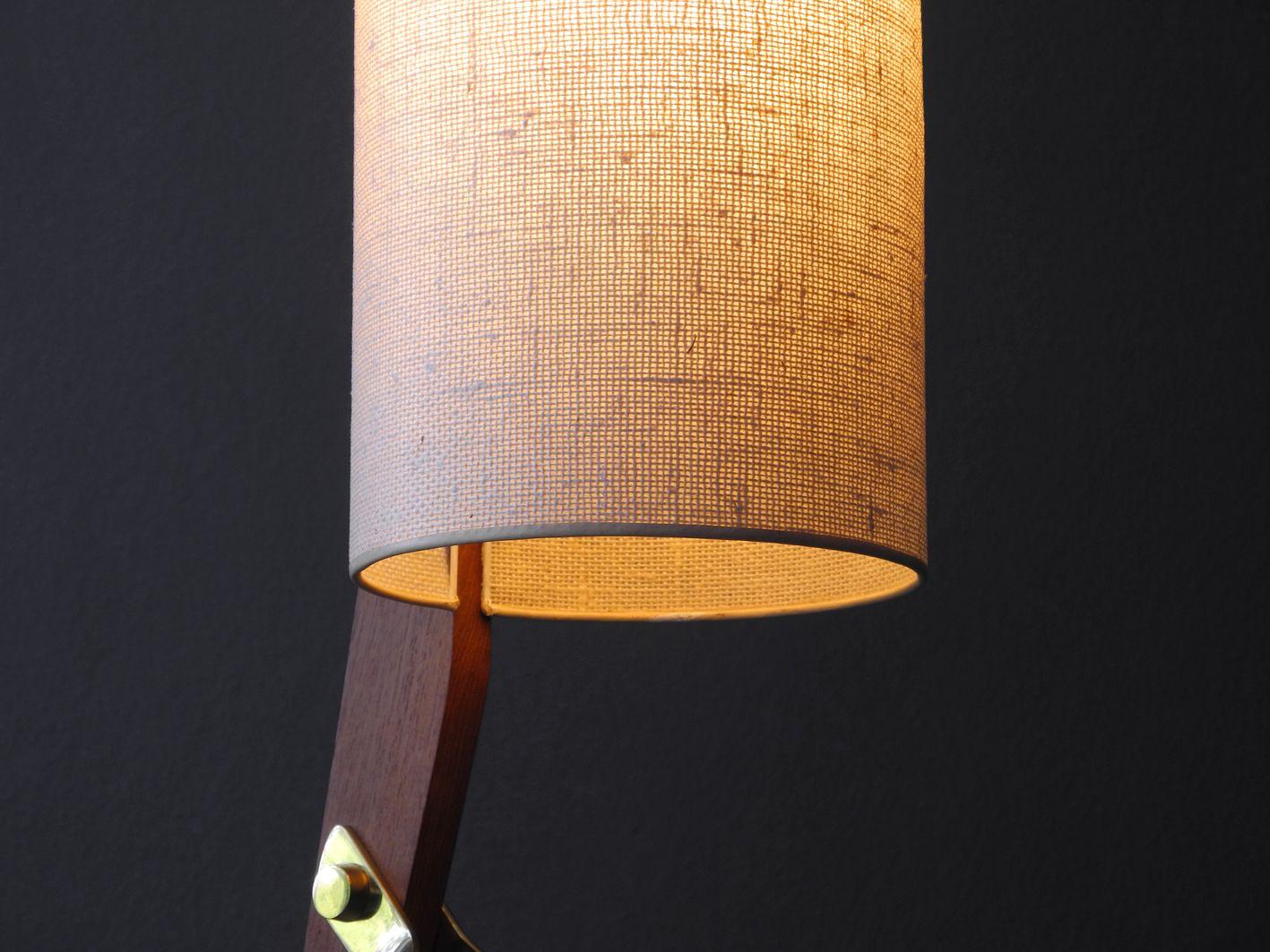 Mid Century Modern Tripod Cone Floor Lamp For Sale At Pamono