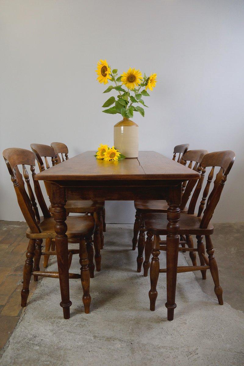 Antiker esstisch bei pamono kaufen - Esstisch verspiegelt ...