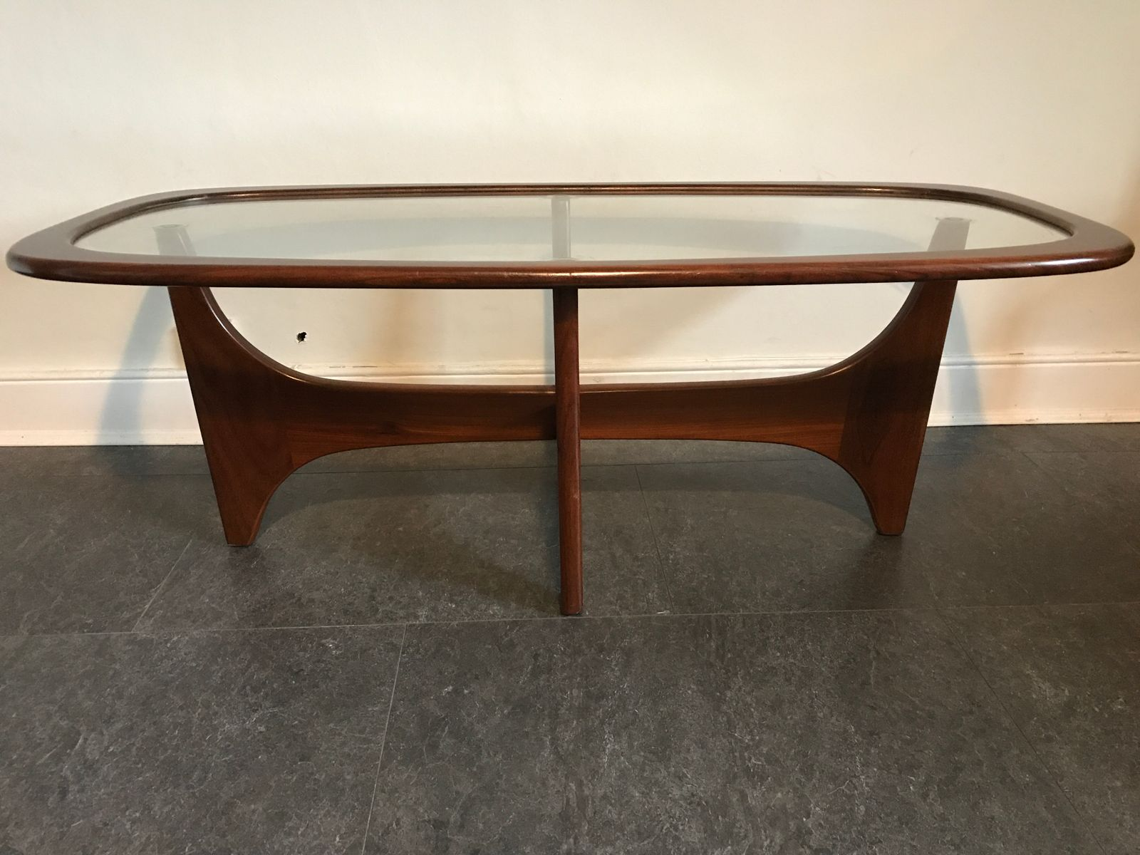 Vintage oval astro coffee table by victor wilkins for g plan vintage oval astro coffee table by victor wilkins for g plan 1960s geotapseo Choice Image
