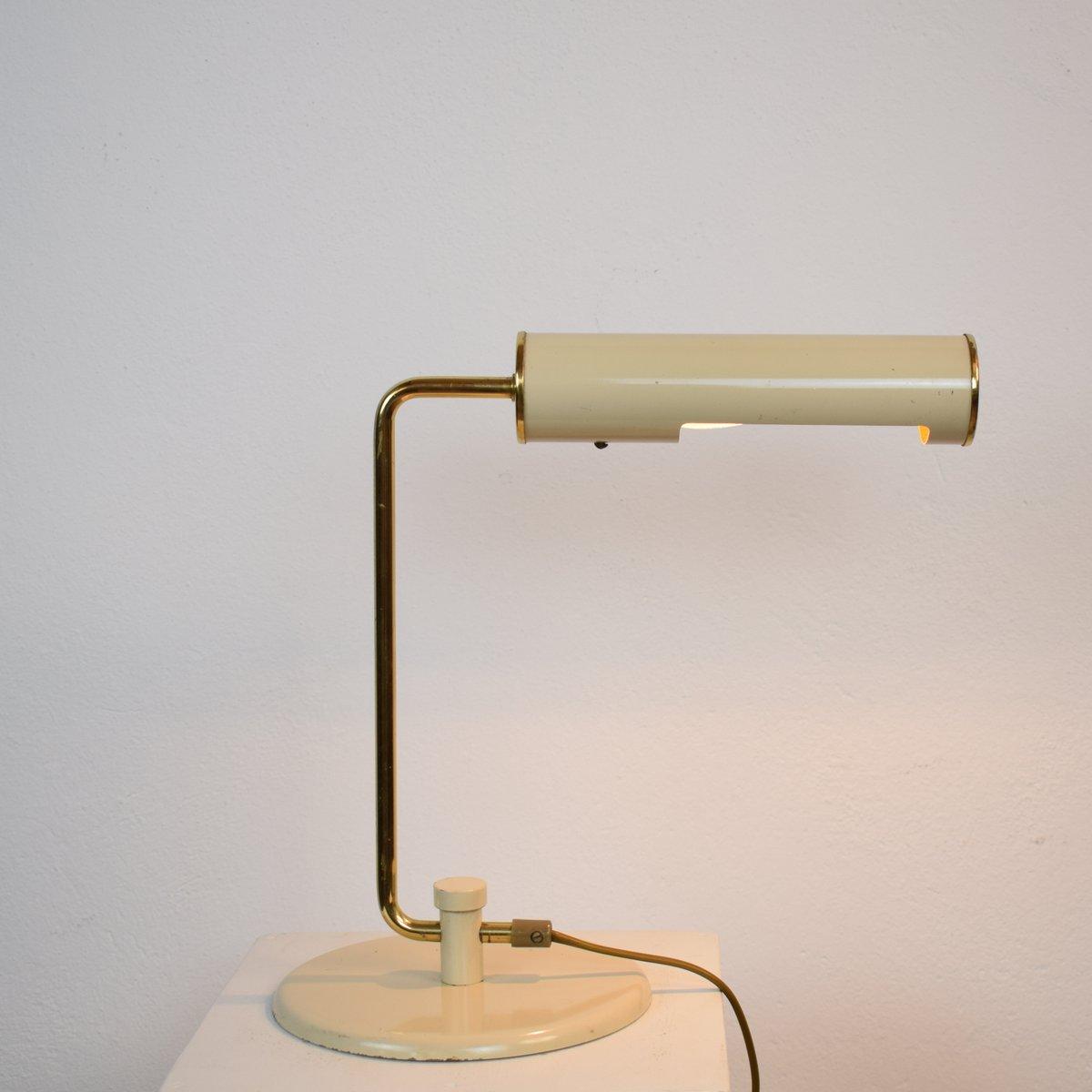 lampe de bureau en m tal et laiton 1970s en vente sur pamono. Black Bedroom Furniture Sets. Home Design Ideas