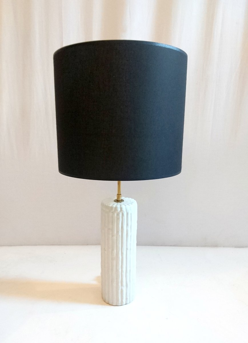 Vintage italian faux bamboo table lamp in porcelain for sale at pamono vintage italian faux bamboo table lamp in porcelain aloadofball Images