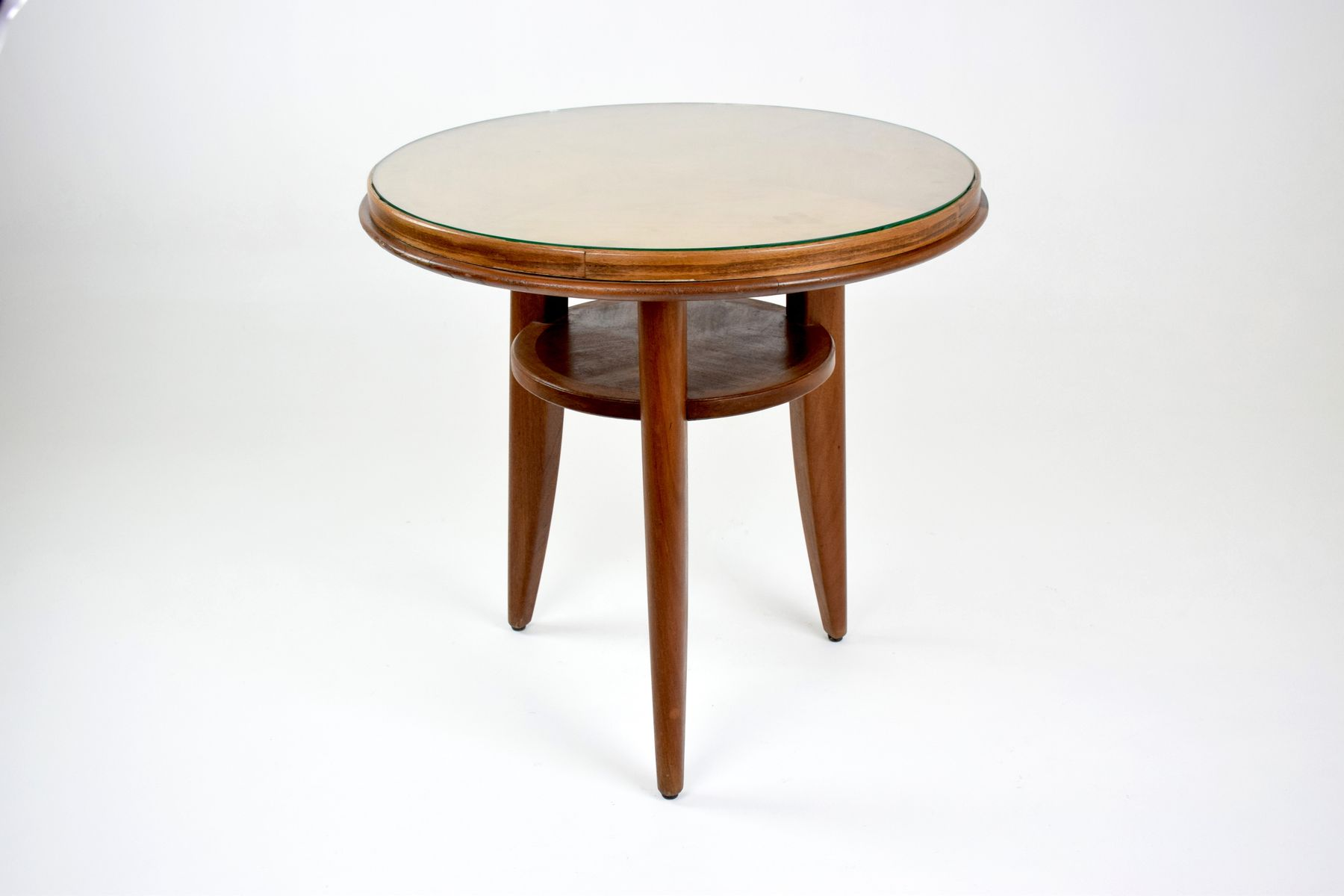 Art deco beech side table 1940s for sale at pamono art deco beech side table 1940s geotapseo Images