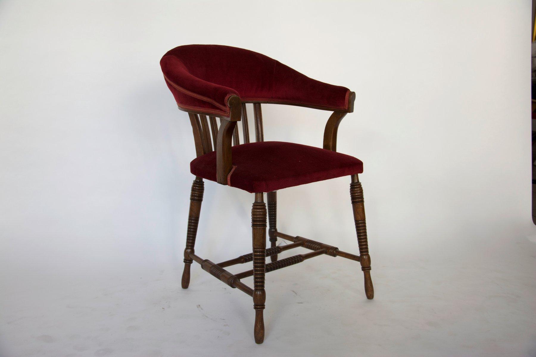 antiker stuhl von adolf loos f r f o schmidt 1900er bei pamono kaufen. Black Bedroom Furniture Sets. Home Design Ideas